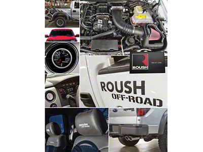Roush R2300 590 HP Off-Road Supercharger Kit - Phase 2 (11-14 6.2L F-150 Raptor)