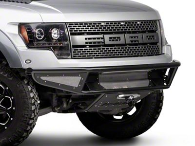 Rogue Racing Throttle Front Bumper w/ Mesh Side Skins & Winch Skid Plate (10-14 F-150 Raptor)