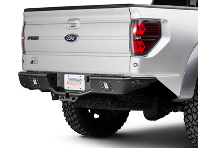 Rogue Racing Renegade Rear Bumper - Not Pre-Drilled for Backup Sensors (09-14 F-150)