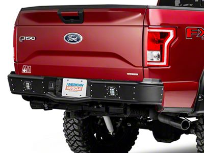 Rogue Racing Revolver Rear Bumper - Not Pre-Drilled for Backup Sensors (15-18 F-150, Excluding Raptor)