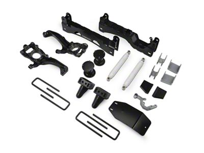 Fabtech 6 in. Basic Lift System w/ Performance Shocks (15-19 4WD F-150 SuperCab, SuperCrew, Excluding Raptor)