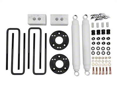 Zone Offroad 2 in. Suspension Lift Kit (09-18 4WD F-150, Excluding Raptor)