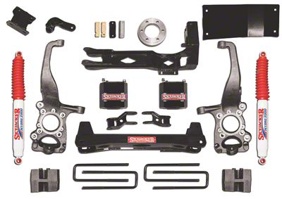 SkyJacker 6 in. Suspension Lift Kit (15-18 4WD F-150, Excluding Raptor)