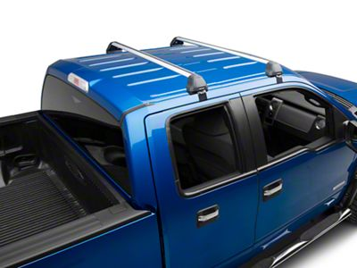 Rhino-Rack Vortex 2500 RS 2-Bar Roof Rack - Silver (04-14 F-150 SuperCrew)