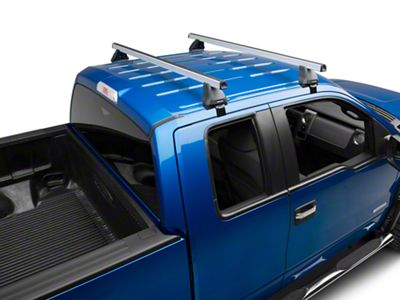 Rhino-Rack Heavy Duty 2500 2-Bar Roof Rack - Silver (04-14 F-150 SuperCab, SuperCrew)