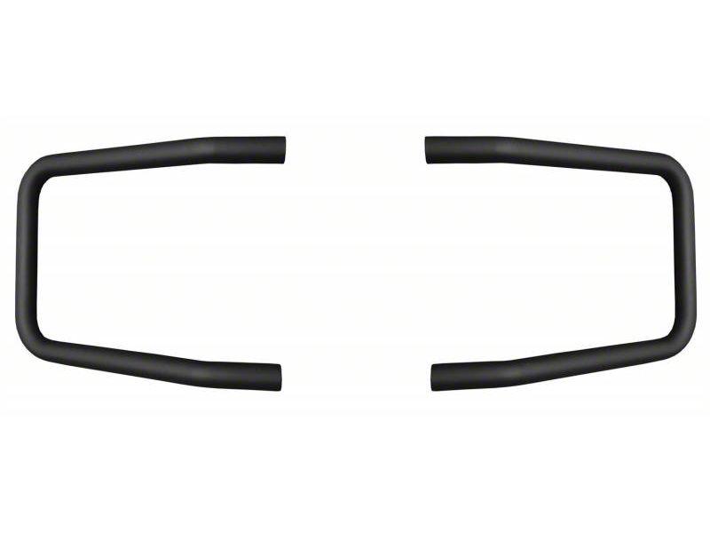 Mile Marker Brush Guard Hoop Set - Black (15-17 F-150, Excluding Raptor)