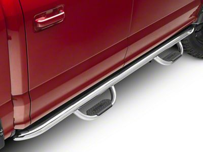 Westin GenX Oval Tube Drop Steps - Stainless Steel (15-18 F-150 SuperCab, SuperCrew)