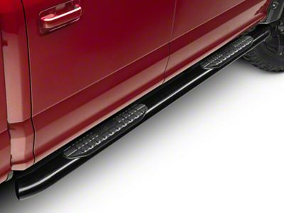 Westin Pro Traxx 5 in. Oval Side Step Bars - Black (15-19 F-150 SuperCab, SuperCrew)
