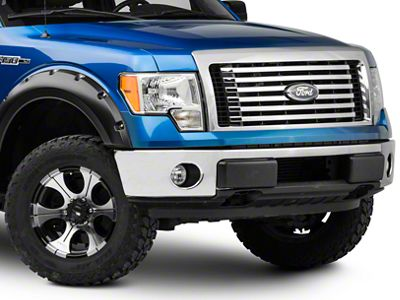 Westin HDX Winch Mount Brush Guard - Stainless Steel (09-14 F-150, Excluding Harley Davidson & Raptor)