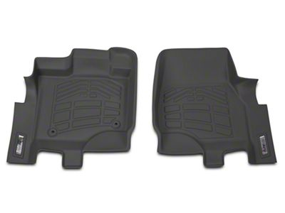 Wade Sure-Fit Front Floor Liners - Gray (15-18 F-150)