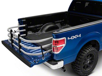 Amp Research Bedxtender HD Max - Deep - Silver (04-19 F-150 Styleside)