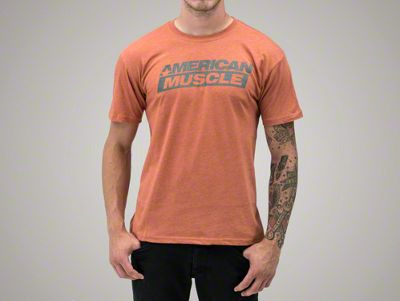 AmericanMuscle Distressed T-Shirt - Men