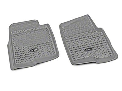 Rugged Ridge Front Floor Liners - Gray (09-14 F-150)