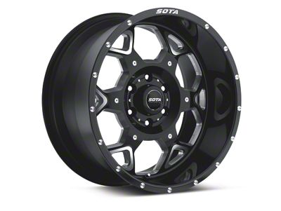 SOTA Off Road S.K.U.L. Death Metal 6-Lug Wheel - 20x9 (04-19 F-150)