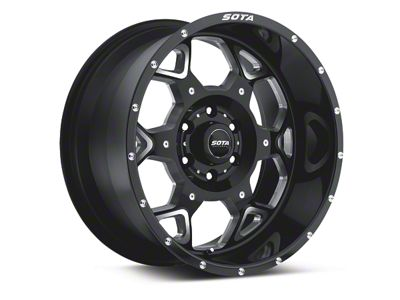 SOTA Off Road S.K.U.L. Death Metal 6-Lug Wheel - 20x10 (04-19 F-150)