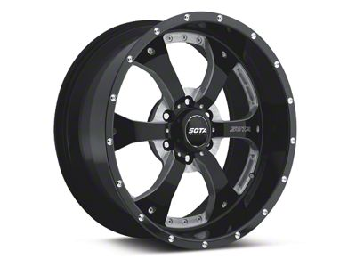 SOTA Off Road NOVAKANE Death Metal 6-Lug Wheel - 18x9 (04-19 F-150)