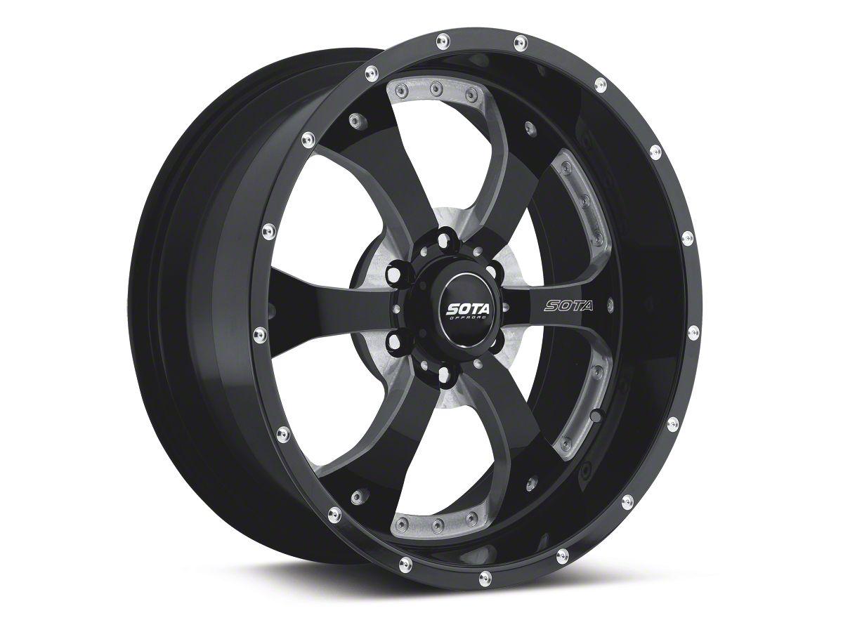 SOTA Off Road NOVAKANE Death Metal 6-Lug Wheel - 18x9 (04-19 F-150)