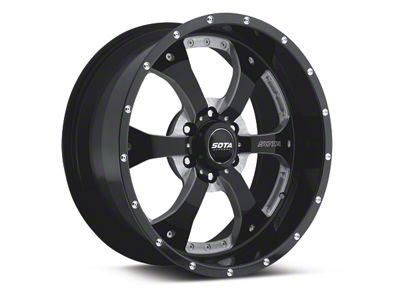 SOTA Off Road NOVAKANE Death Metal 6-Lug Wheel - 20x9 (04-18 F-150)