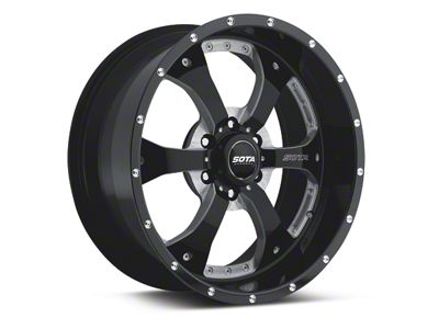 SOTA Off Road NOVAKANE Stealth Black 6-Lug Wheel - 18x9 (04-18 F-150)