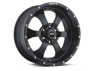 SOTA Off Road NOVAKANE Stealth Black 6-Lug Wheel - 20x9 (04-18 F-150)