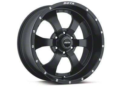 SOTA Off Road NOVAKANE Stealth Black 6-Lug Wheel - 20x10 (04-18 F-150)