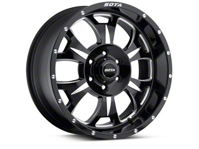 SOTA Off Road M-80 Death Metal 6-Lug Wheel - 20x9 (04-19 F-150)
