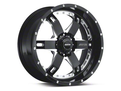 SOTA Off Road REPR Death Metal 6-Lug Wheel - 20x9 (04-18 F-150)