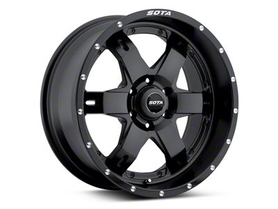 SOTA Off Road REPR Stealth Black 6-Lug Wheel - 20x9 (04-18 F-150)