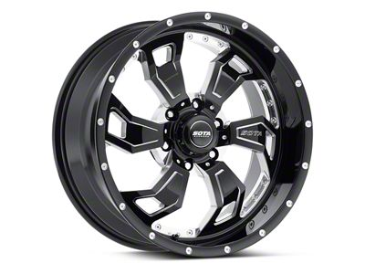 SOTA Off Road S.C.A.R. Death Metal 6-Lug Wheel - 20x9 (04-19 F-150)