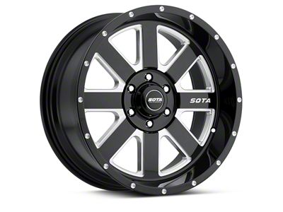 SOTA Off Road A.W.O.L. Death Metal 6-Lug Wheel - 20x9 (04-19 F-150)