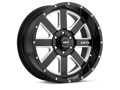 SOTA Off Road AWOL Death Metal 6-Lug Wheel - 20x10 (04-18 F-150)