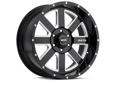 SOTA Off Road AWOL Death Metal 6-Lug Wheel - 20x12 (04-18 F-150)
