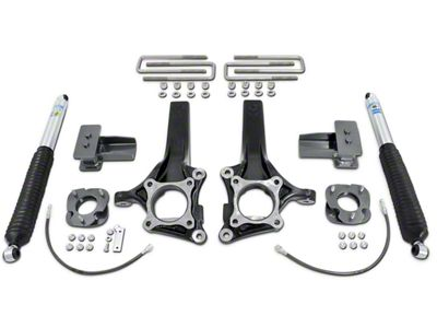 Max Trac 7 in. Front / 4 in. Rear Suspension Lift Kit w/ Shocks (15-18 2WD F-150)