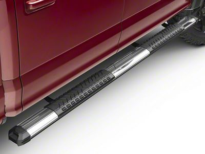 Barricade Saber 5 in. Aluminum Side Step Bars (15-18 F-150 SuperCab, SuperCrew)