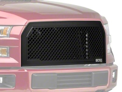 Putco Boss Upper Replacement Grille (15-17 F-150, Excluding Raptor)