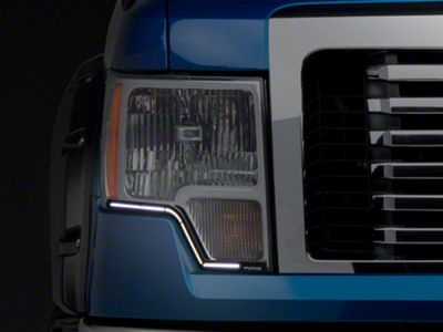 Putco SwitchBack LED DayLiners - Black (09-14 F-150)