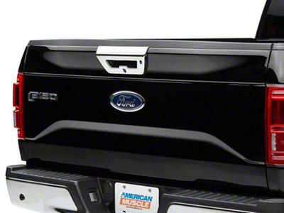 Putco Tailgate Handle Cover - Chrome (15-17 F-150)