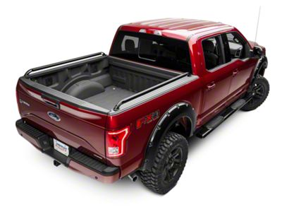 Locker Side Rails - Black (15-19 F-150)