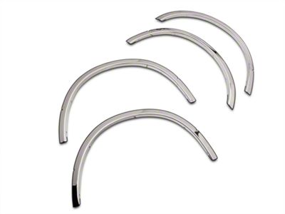 Putco Stainless Steel Fender Trim (15-17 F-150, Excluding Raptor)