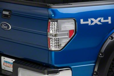 Axial Chrome LED Tail Lights (09-14 F-150 Styleside)