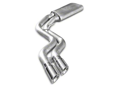 Stainless Works Resonator Dual Exhaust System - Middle Side Exit - Performance Connect (15-18 5.0L F-150)