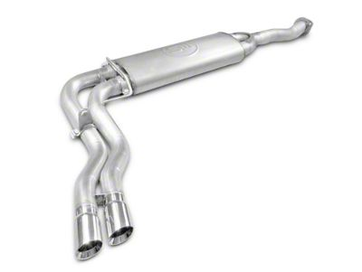 Stainless Works Dual Exhaust System - Middle Side Exit - Factory Connect (15-19 5.0L F-150)