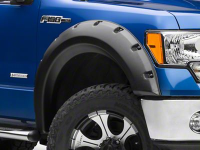 Rugged Ridge Fender Flares - Textured Black (09-14 F-150 Styleside, Excluding Raptor)
