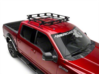 Surco Safari Roof Rack - 50 in. x 50 in. w/ 5 in. Stanchion (97-19 F-150)