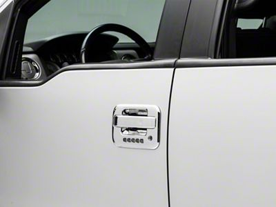 Door Handle Covers - Chrome ABS (09-14 F-150)