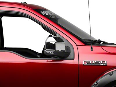 ABS Mirror Covers - Chrome (15-18 F-150 w/ Standard Mirrors)
