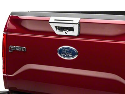 ABS Tailgate Handle Cover - Chrome (15-17 F-150 w/ Backup Camera)