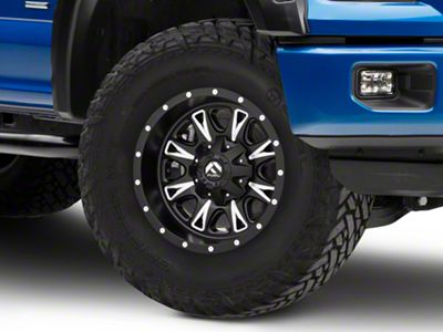 Fuel Wheels Throttle Matte Black Milled 6-Lug Wheel - 17x9 (04-18 F-150)