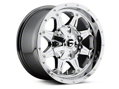 Fuel Wheels Boost Chrome 6-Lug Wheel - 17x9 (04-18 F-150)