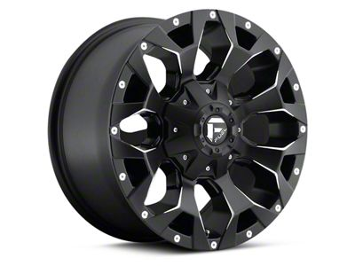 Fuel Wheels Assault Black Milled 6-Lug Wheel - 17x8.5 (04-18 F-150)